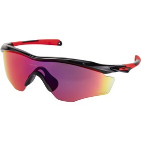 Oakley M2 Frame XL Solbriller, polished black/prizm road